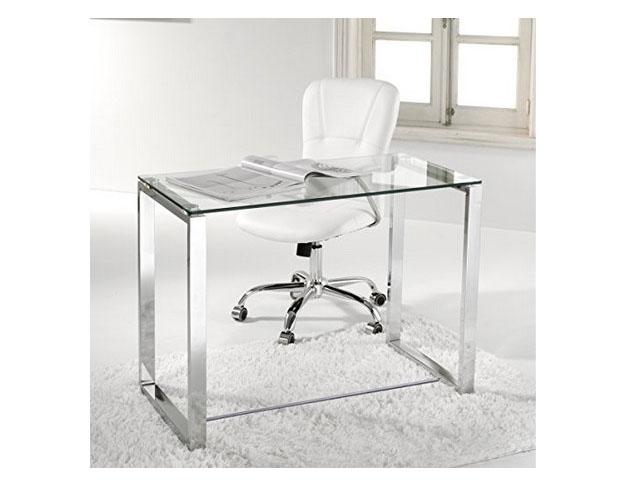 Comprar mesas de oficina baratas online - Mesa escritorio cristal ikea ...